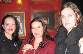 Emily Maguire, Sarah Hall, Heather O'Neill