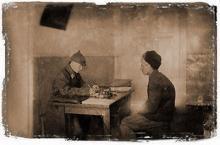 NKVD interrogation